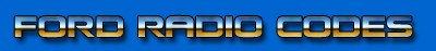 Ford Radio Codes Logo